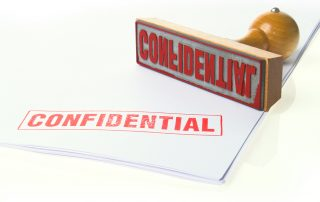 Confidentiality Disclaimers