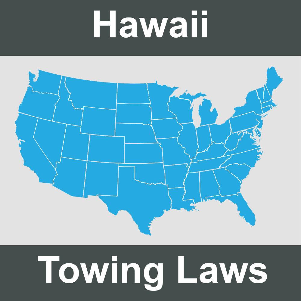 Hawaii Towing Laws