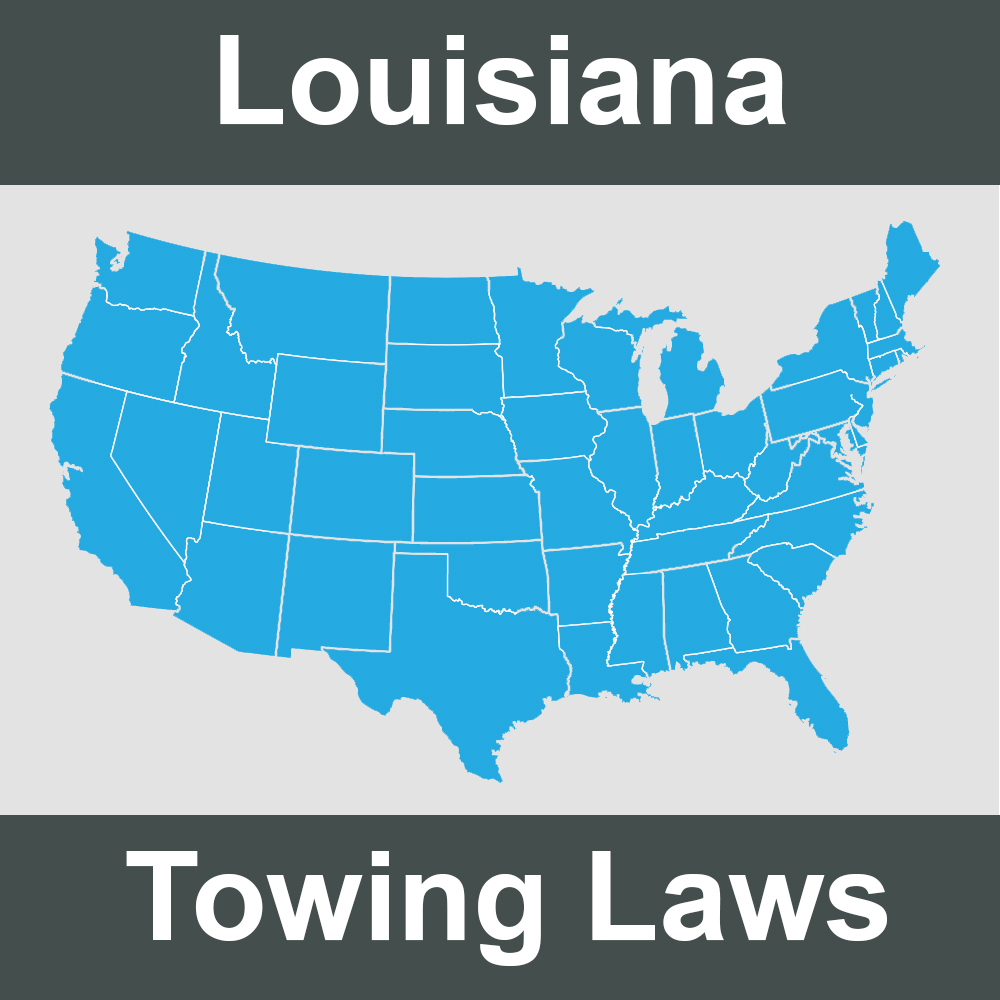 Louisiana Towing Laws