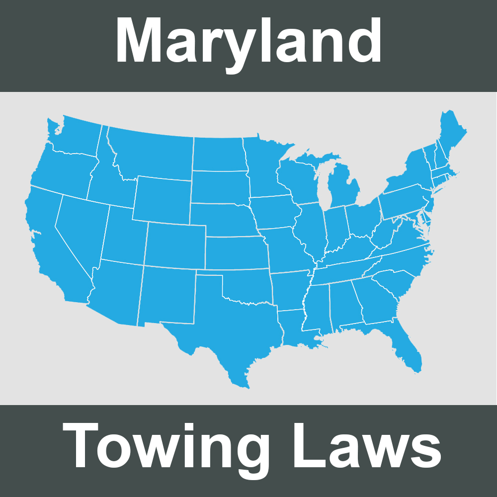 Maryland Towing Laws