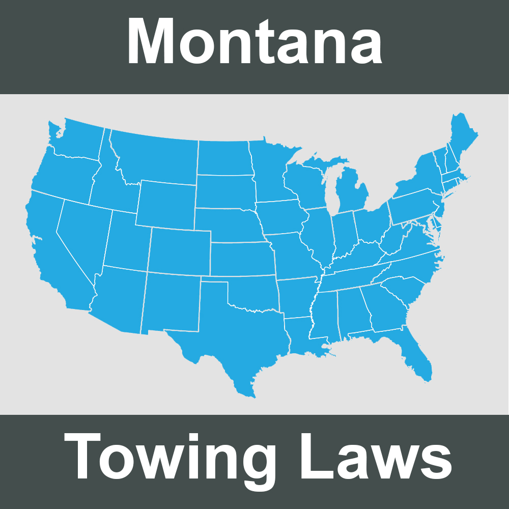 Montana Towing Laws