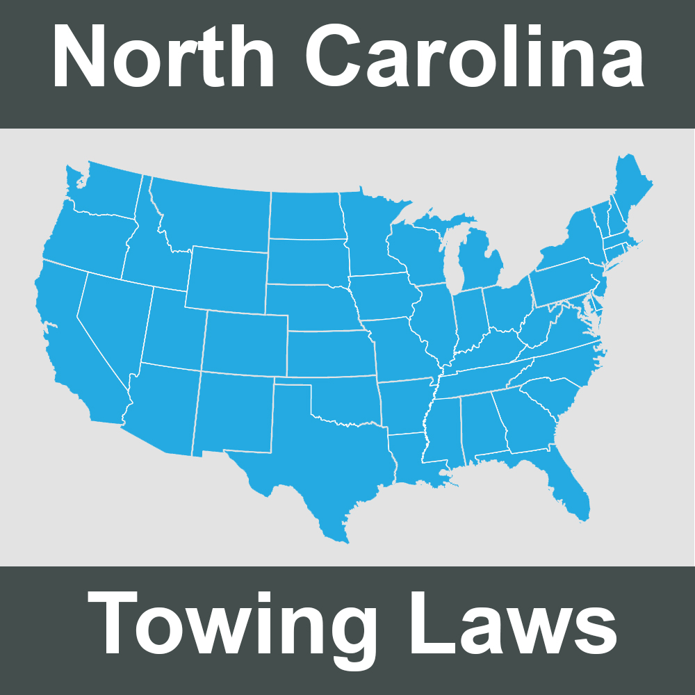 North Carolina Towing Laws
