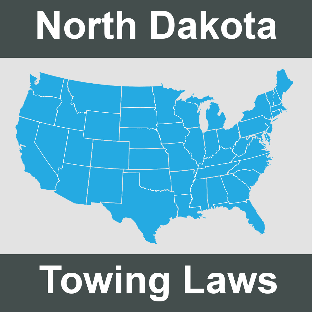 North Dakota Towing Laws
