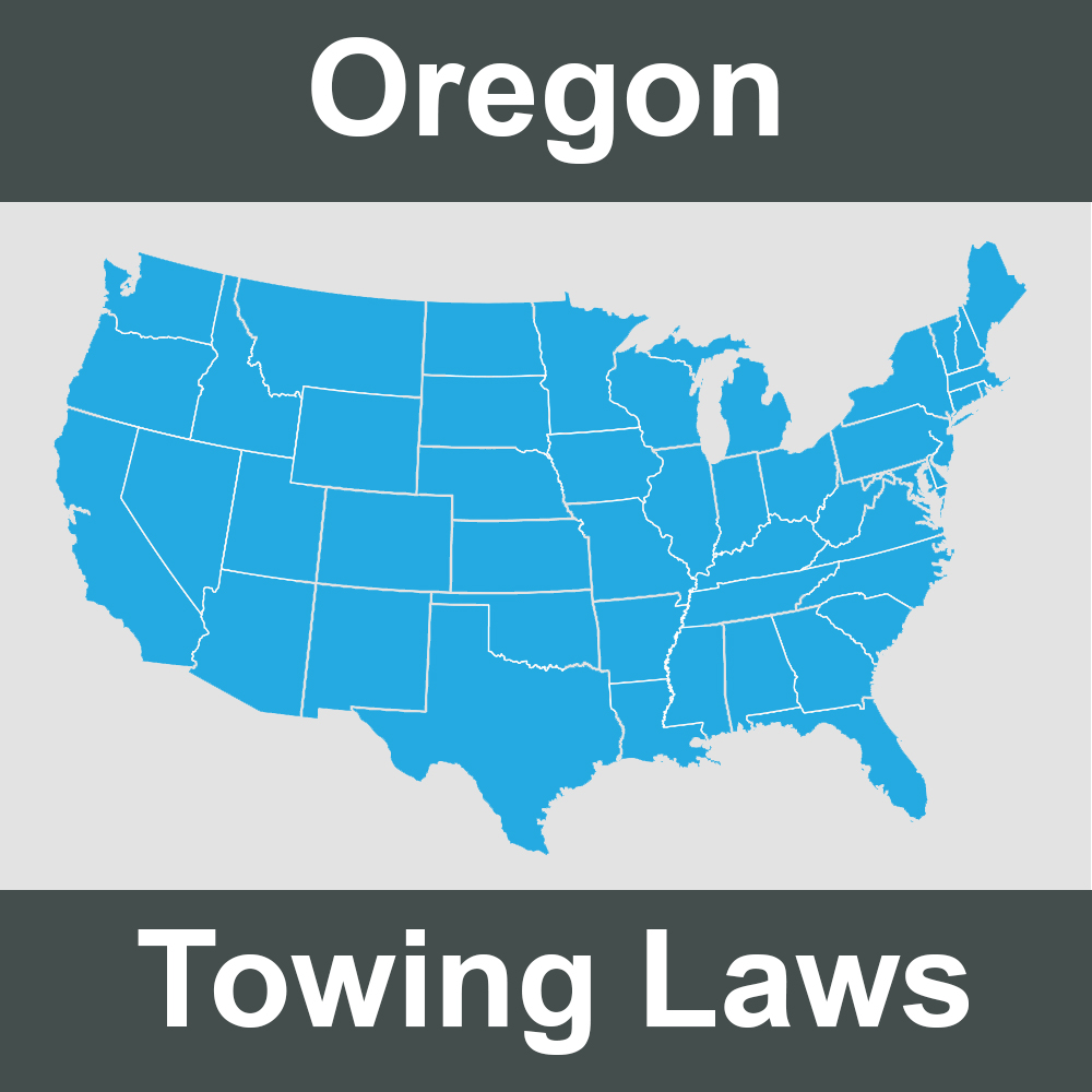 Oregon Towing Laws