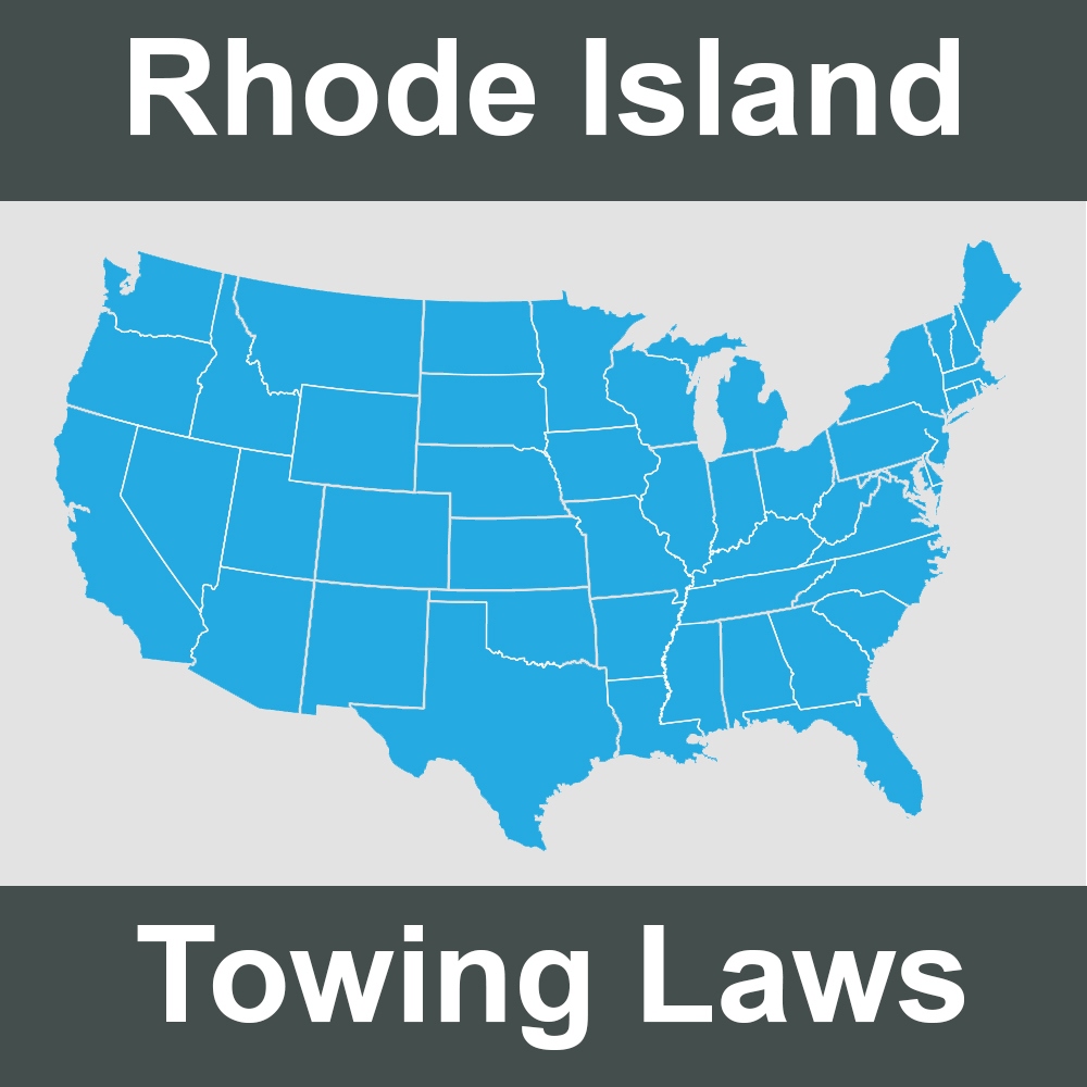 Rhode Island Towing Laws