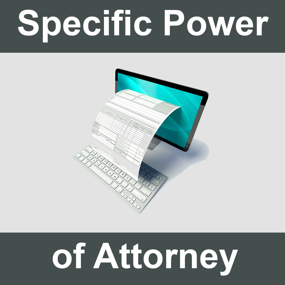 Specific Power of Attorney