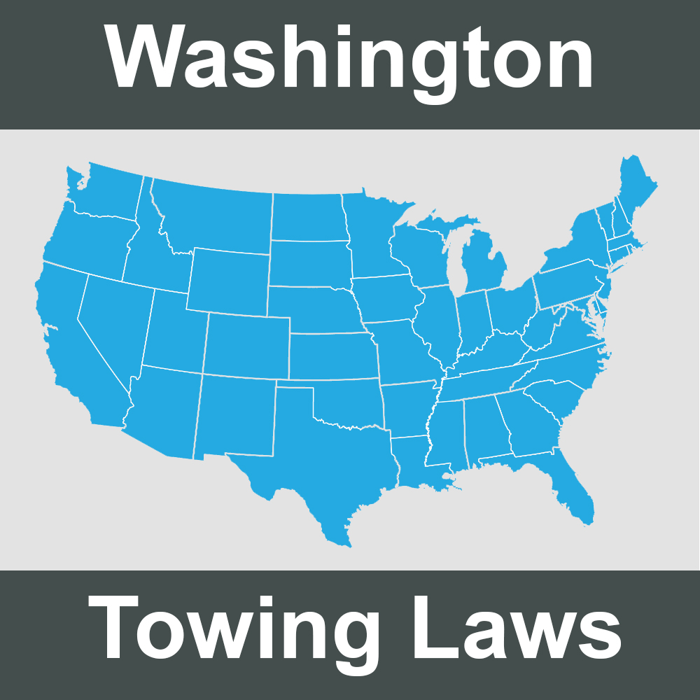 Washington Towing Laws