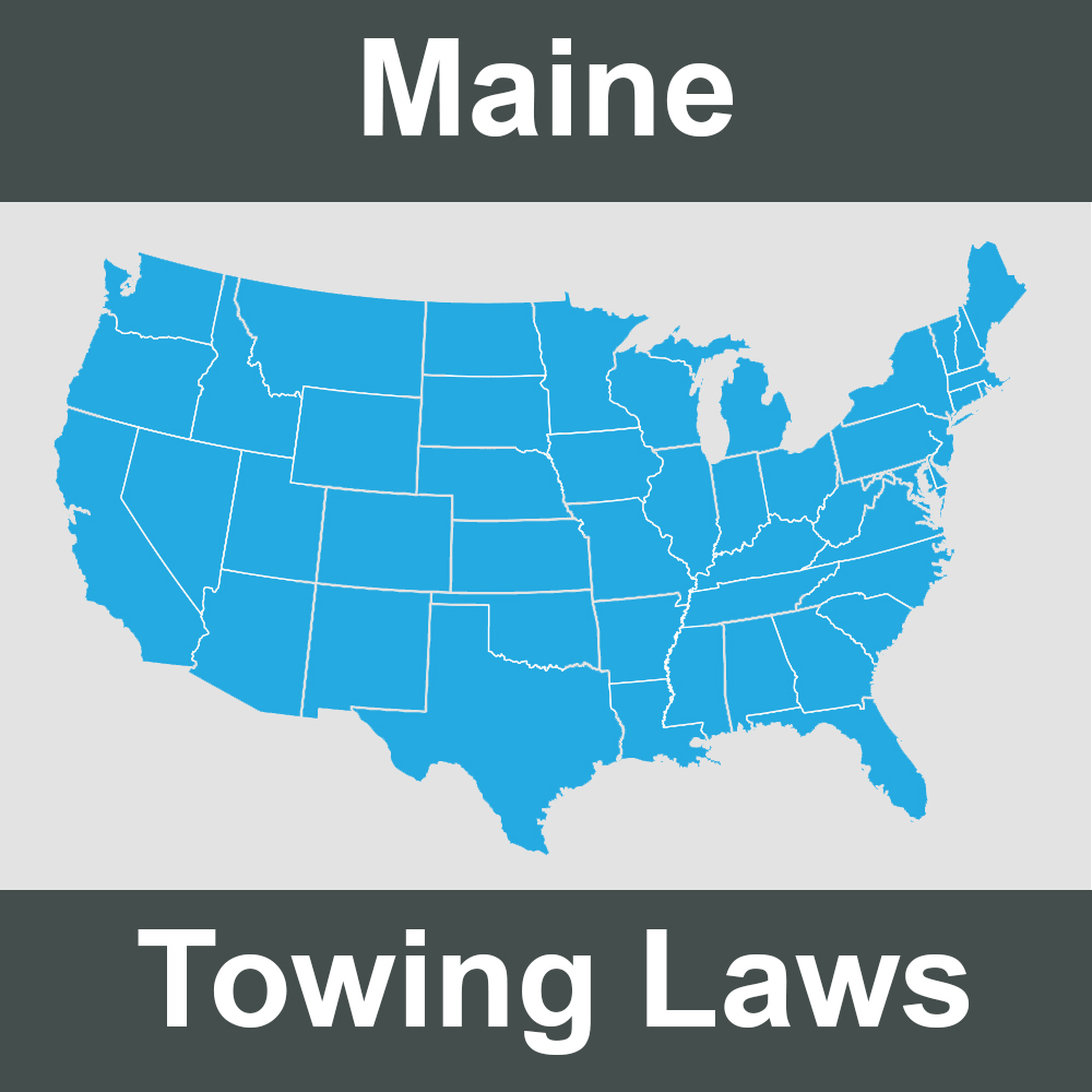 Maine Towing Laws