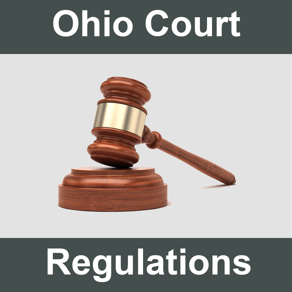 Ohio Supreme Court Regulations