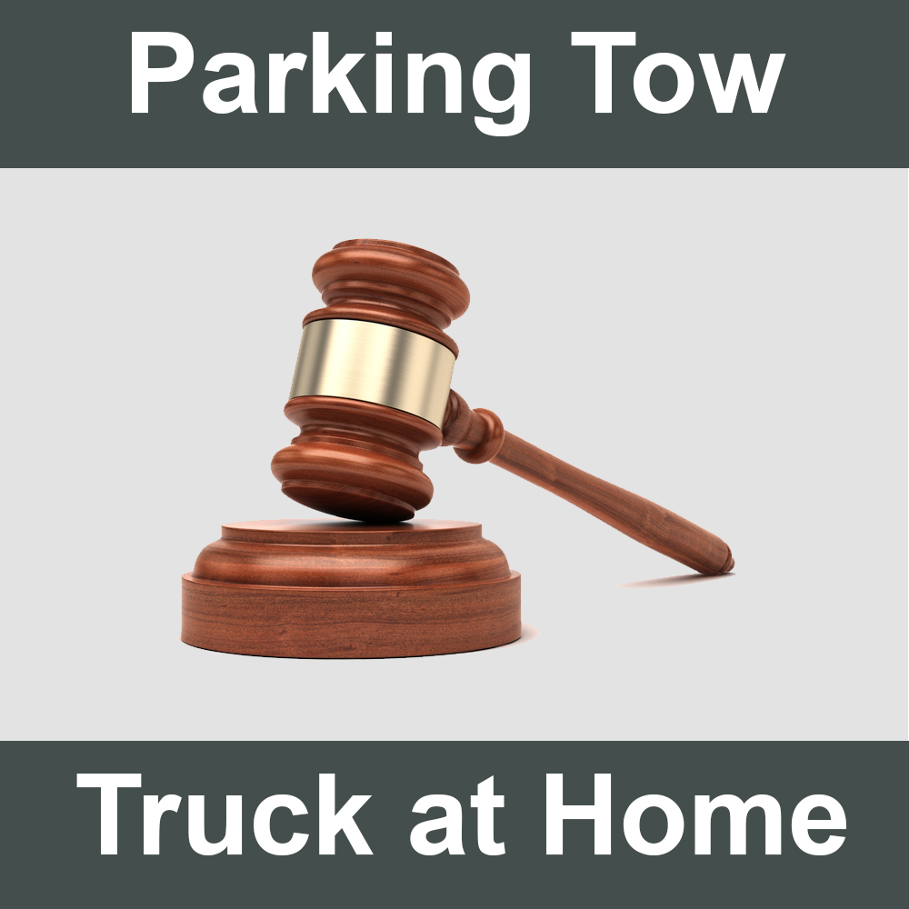 Parking Your Tow Truck at Home