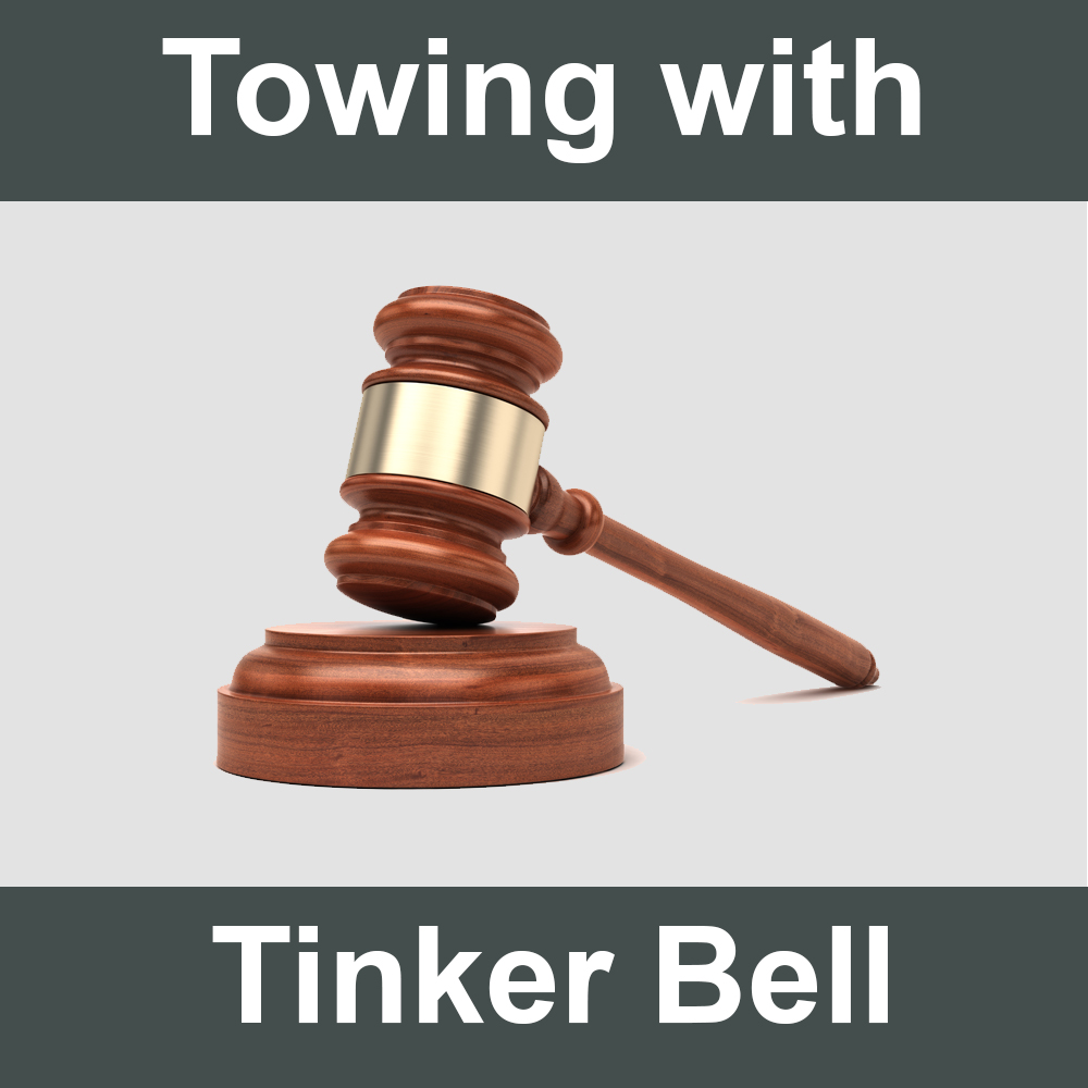 Towing with Tinker Bell
