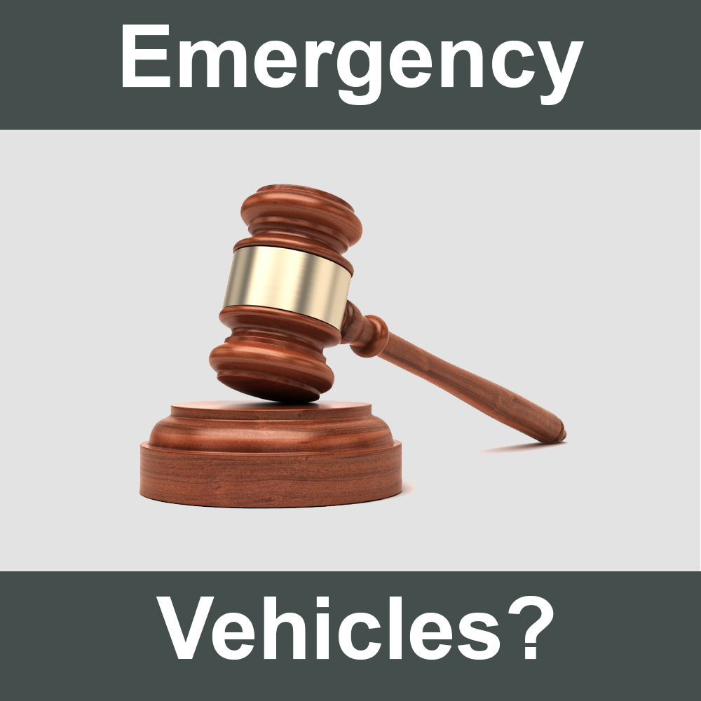 Is a Tow Truck an Emergency Vehicle