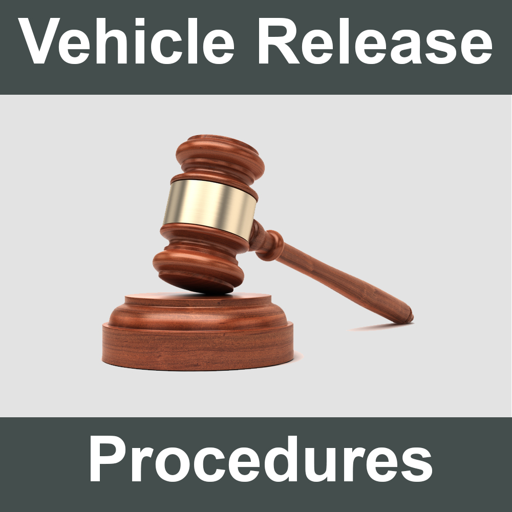 Vehicle Release Procedures