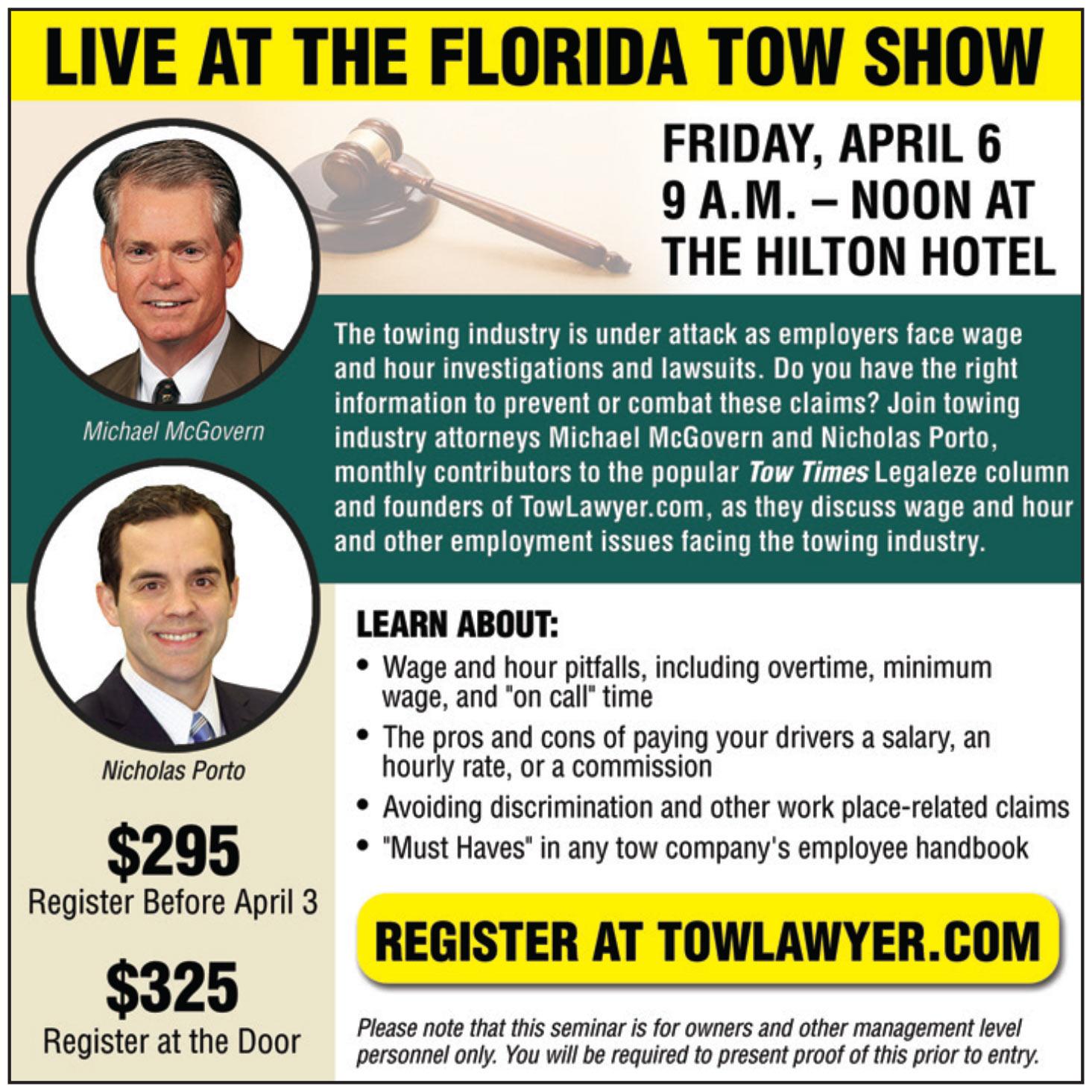 Florida Tow Show 2018