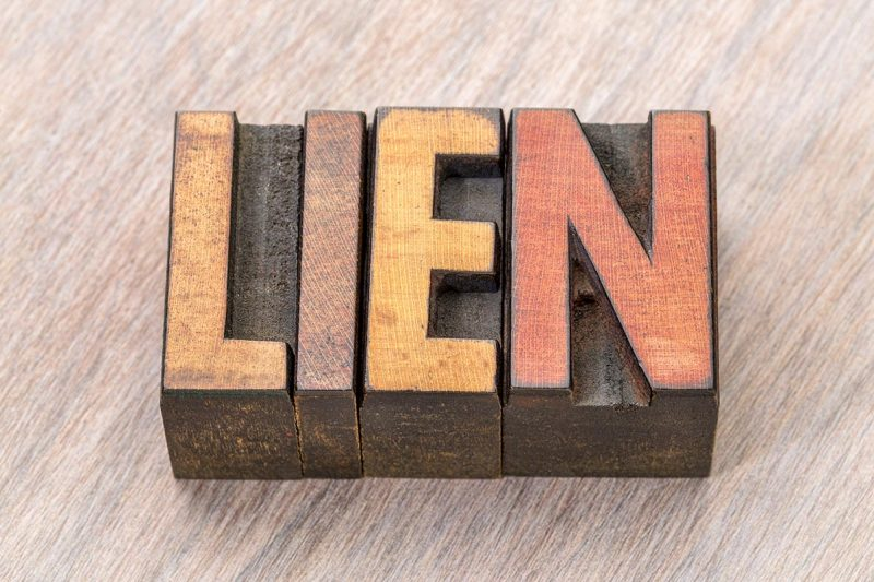 Liens and the Law