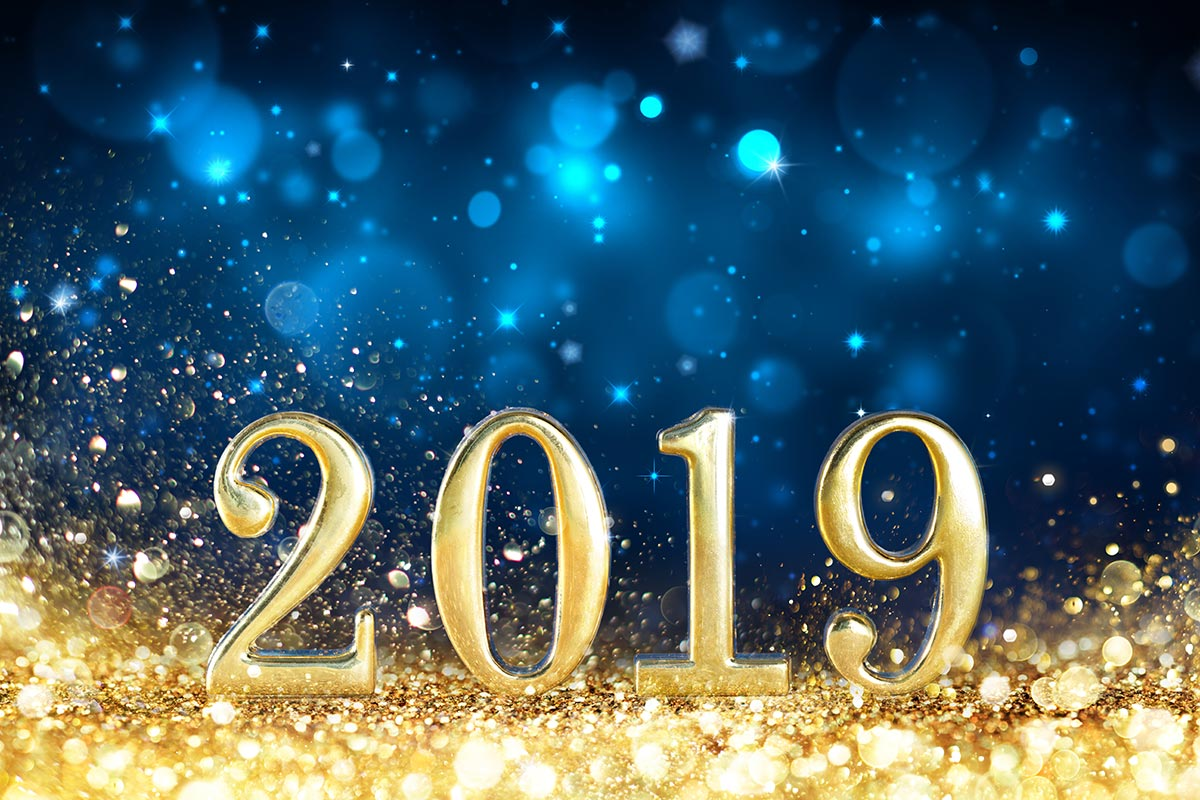 Happy New Year & Best Wishes for 2019!