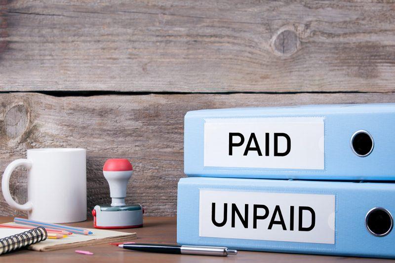 Unpaid Recovery Bills